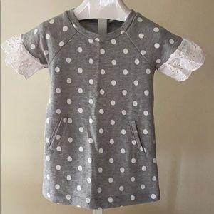 Gap toddler polka dot dress